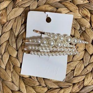 Pearls hair accesories